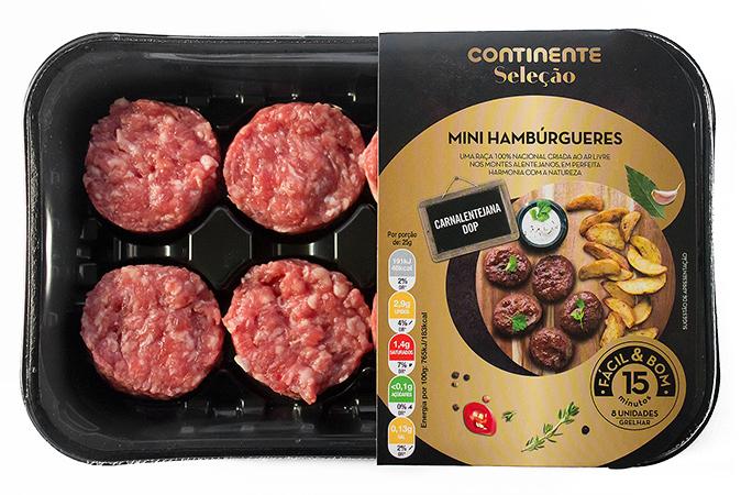 Novos mini-hambúrgueres Carnalentejana DOP
